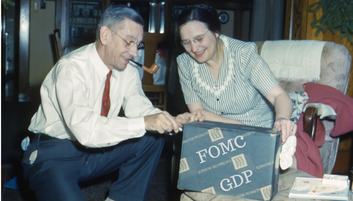 The Fed and GDP, gifts that keep giving