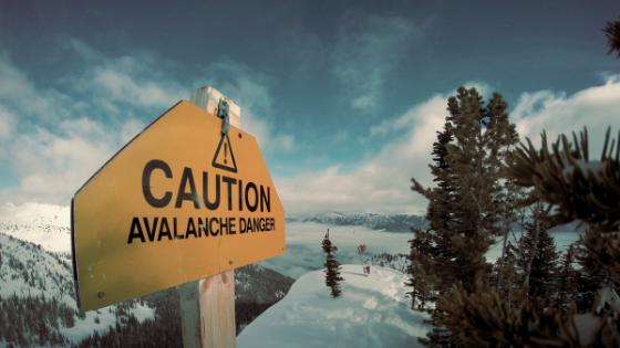 Caution Avalanche Danger