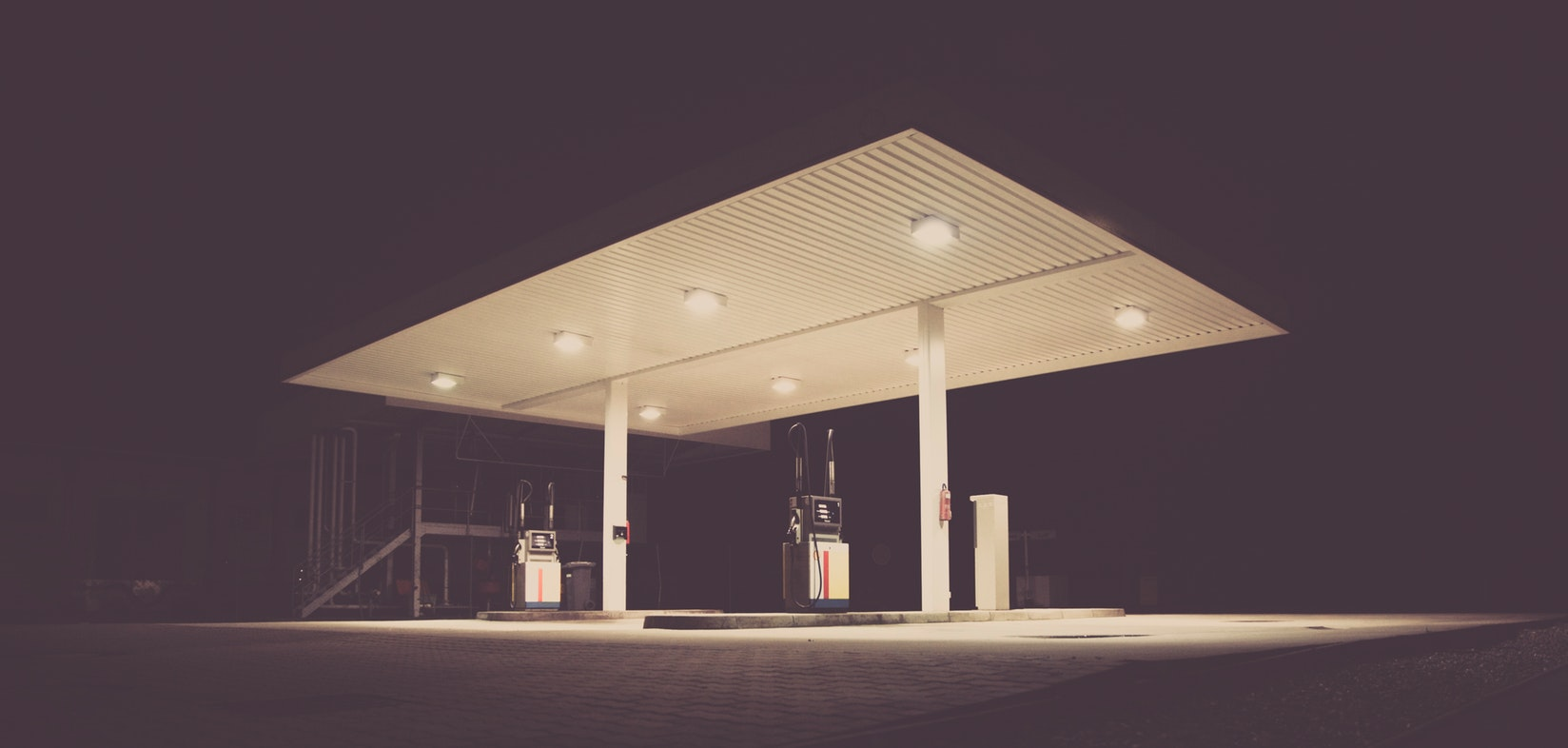 Crude Oil Gas Station
