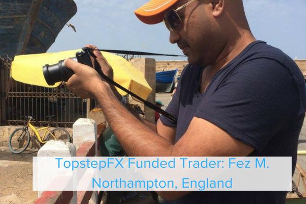 TopstepFX Funded Trader Fez