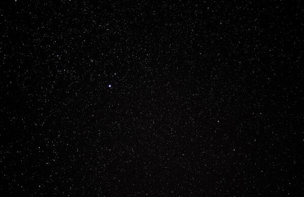 Empty void of space