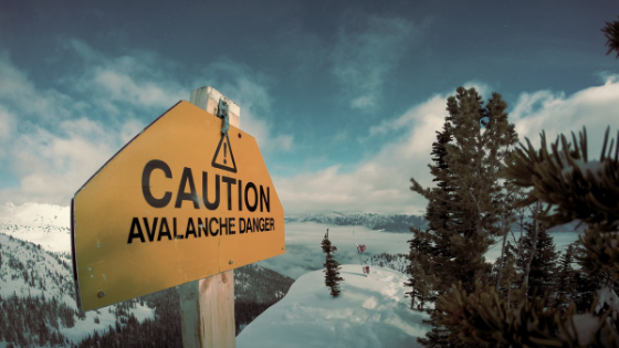 Caution Avalanche Danger