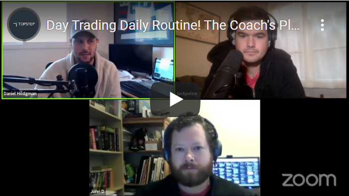 Day trading daily routine - The Coach's Playbook