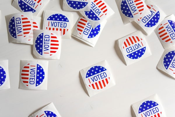 I Voted Stickers - Election Year Preparation