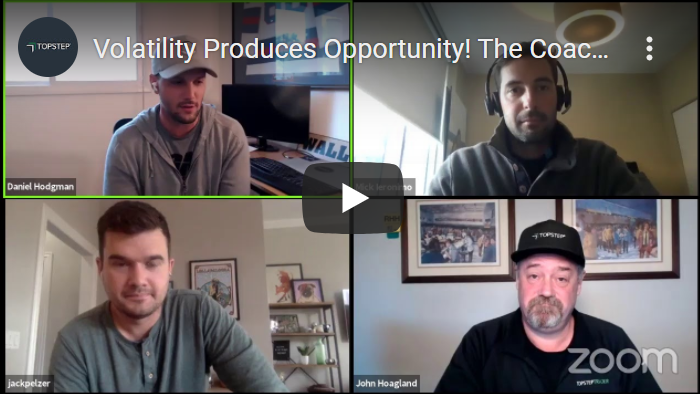 Volatility Produces Opportunity - The Coach's Playbook