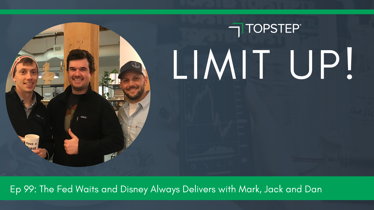 The Fed Waits and Disney Always Delivers with Mark, Jack and Danny