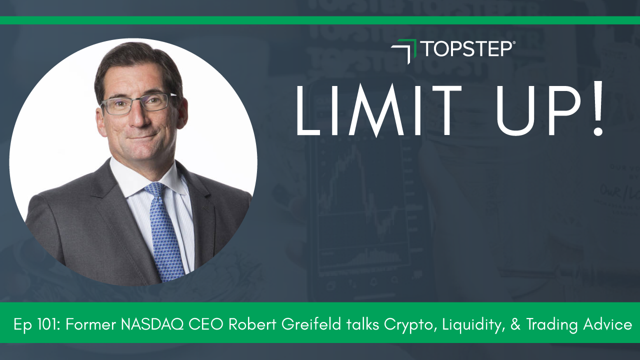 Former NASDAQ CEO Robert Greifeld talks Crypto, Liquidity, & Trading Advice